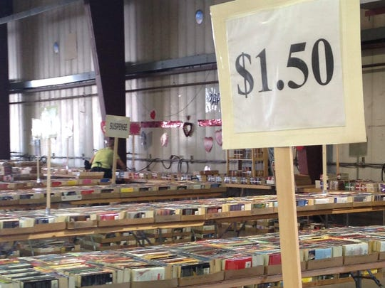 The annual VNSA Used Book sale will take place on Saturday, Feb. 9, 2019, and Sunday, Feb. 10, 2019, at the Arizona State Fairgrounds.
