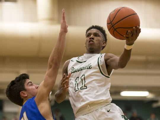 Isaiah Thompson of Zionsville