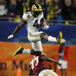Michigan football notes: De'Veon Smith impresses at Shrine Game