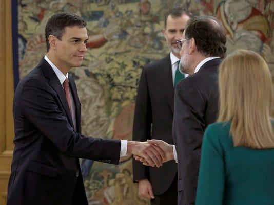 SPAIN POLITICS Pedro Sanchez