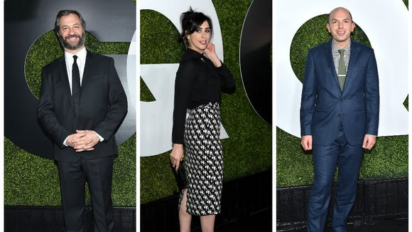 Judd Apatow, Sarah Silverman and Paul Scheer were joined