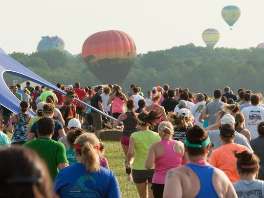 The Advil Running with the Balloons 5K.
