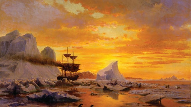 "'Ice Dwellers,"" by William Bradford."