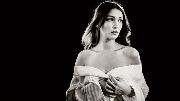 Hadid: model and... equestrian?