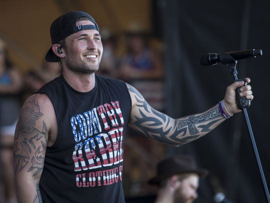 Country star Michael Ray joins Midland as the Montana State Fair's second night show act.