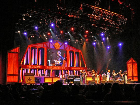 Grand Ole Opry shows began in 1925 and still play to packed audiences.