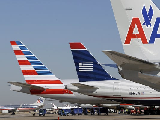 AP AMERICAN AIRLINES-US AIRWAYS-MERGER F FILE A USA TX