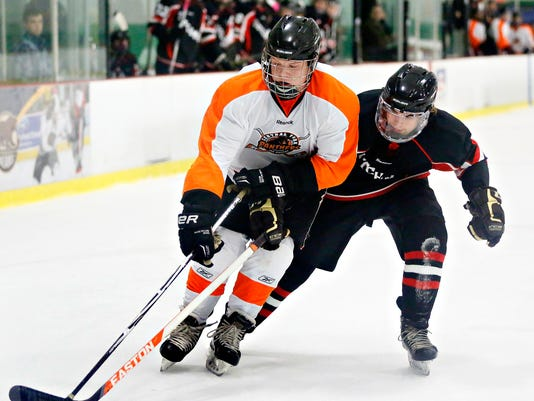 Central York vs Annville-Cleona hockey