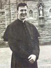 Fr. Michael Woods on his Ordination Day June 19, 1966.