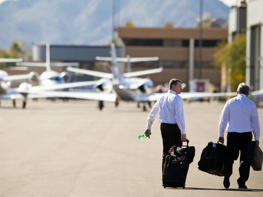 Growth brought a spike in air traffic to Scottsdale