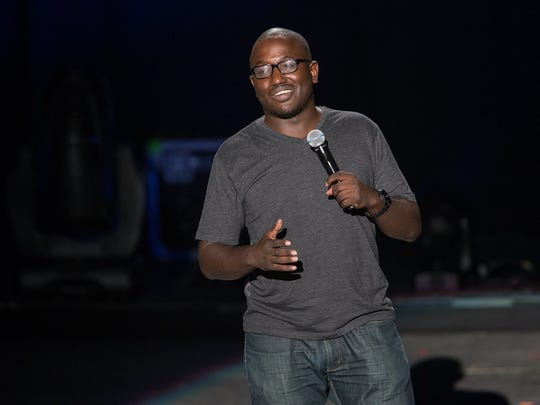 "Hannibal Buress portrays a thief who associates with modern-day, grown-up Tom Sawyer and Huckleberry Finn in ""Band of Robbers."""