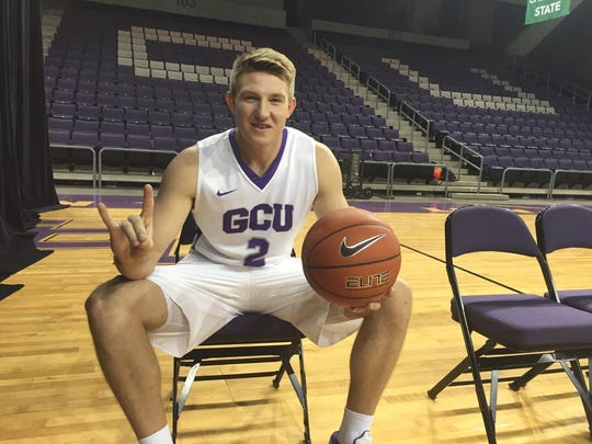 GCU's guard Josh Braun was one of the major contributors last season.