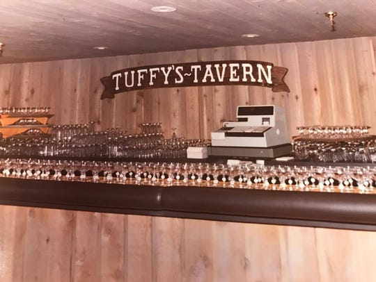A vintage photo of Tuffy's Tavern in Ocean Pines.