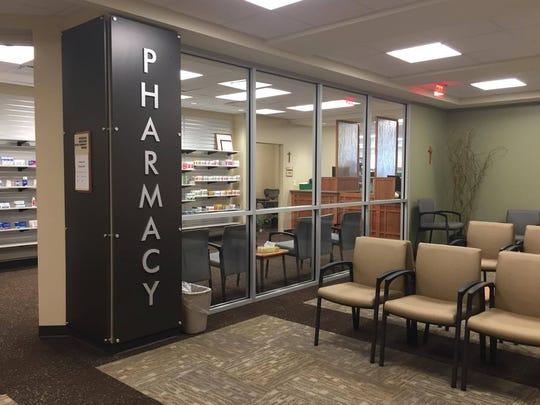 Ascension Medical Group's new clinic on Wausau's west side includes a pharmacy.