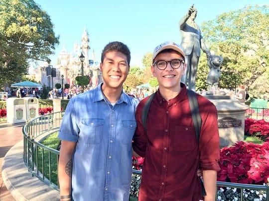 Eugene Williams and Chris Gudiño.