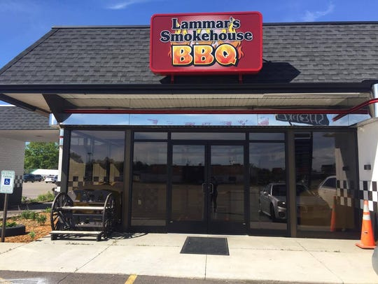 Lammar's Smokehouse is located at 1027 Grand Ave. in