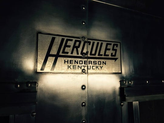 The Hercules nameplate is still evident, all these decades later.