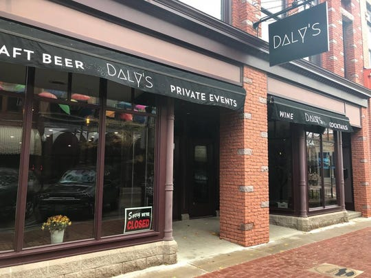 Daly's Restaurant in downtown Wausau on Oct. 30, 2017.