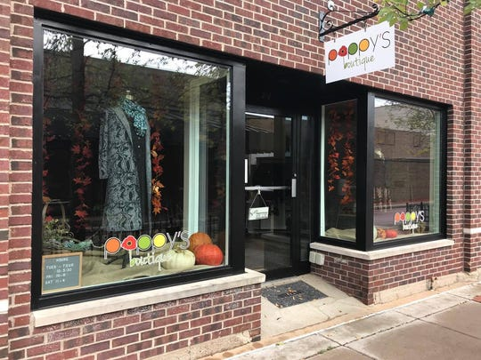 Poppy's Boutique in downtown Wausau on Oct. 30, 2017.