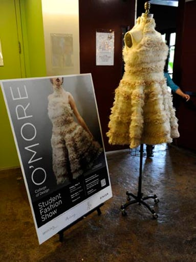 O'More College of Design Student Fashion Show at the Factory at Franklin Friday, May 9, 2014, in Franklin, Tenn.