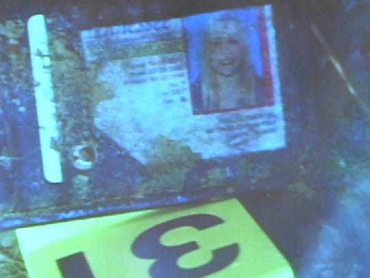 A driver's license belonging to Holly Bobo was identified