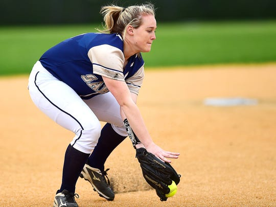 Susquehanna Valley shortstop Madison Tuttle (15) during