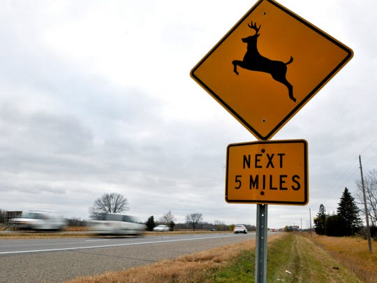 Farmers Insurance found Minnesota ranks sixth highest in the nation for roadway animal crashes between September and November, with 56% of claims resulting from collisions with animals filed during those three months.