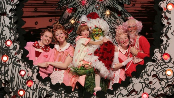 ... First Time! Dr. Seuss' How the Grinch Stole Christmas! The Musical