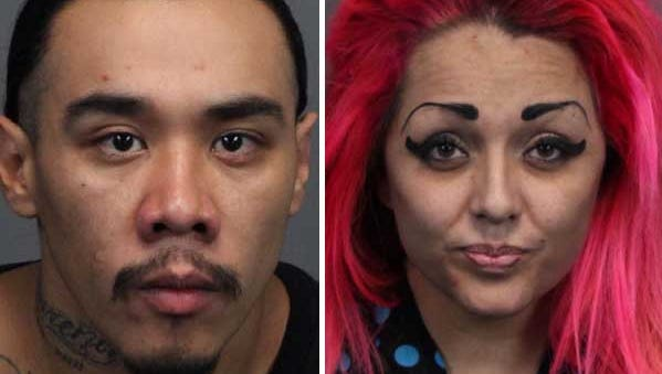 Miguel Padilla, 26, and Yvonne Ablia, 26, both of Hungry Valley, were arrested Thursday on a charge of robbery with a deadly weapon in connection with the robbery of a cab driver in Sparks on Sunday, Nov. 9, 2014.