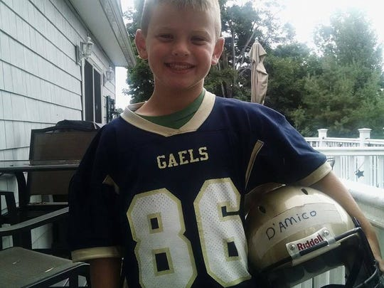 Christopher D'amico, 10, died in a boating accident
