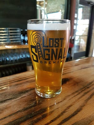 Lost Signal specializes in small-batch brews with a rotating selection. In addition to its IPA, pictured, you might find American amber, Irish red, English brown, Kolsch, British golden, smoked pecan porter, XPA or oatmeal stout.