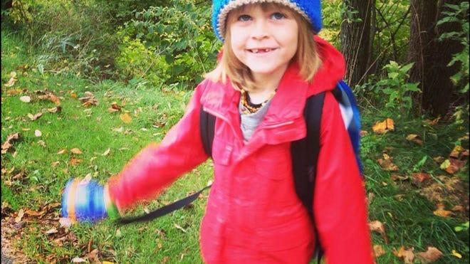 In October, Garnett Spears started kindergarten at Green Meadow Waldorf School in Chestnut Ridge, associated with The Fellowship Community.