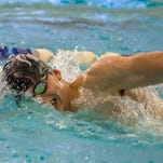 Lakeview's Scott Carstens, shown here during the All-City Meet on Jan. 23.