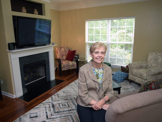 Bonita Kolb recently moved into her townhome in Lenox
