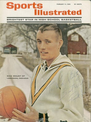 On Feb. 14, 1966, Rick Mount became the first high