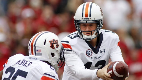 Sophomore Sean White was named the Auburn starting