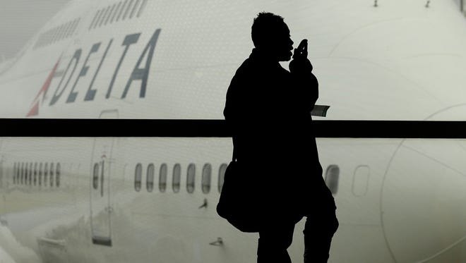 The Federal Communications Commission has banned in-flight cellphone calls since 1991.