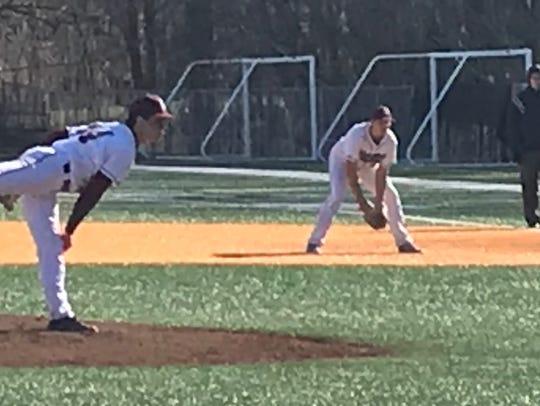Verona's Anthony Zamloot tossed six spectacular innings,