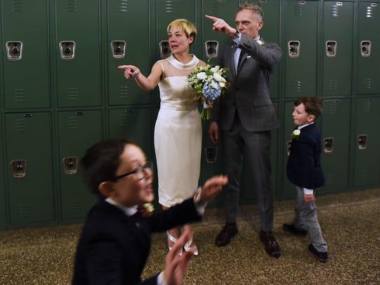 Jennifer Gash and Chris Gash, a Clifton couple, get