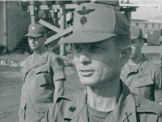 Major Kettles during his time in the service.