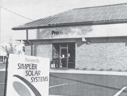 This photo from our archives shows ProBank's building