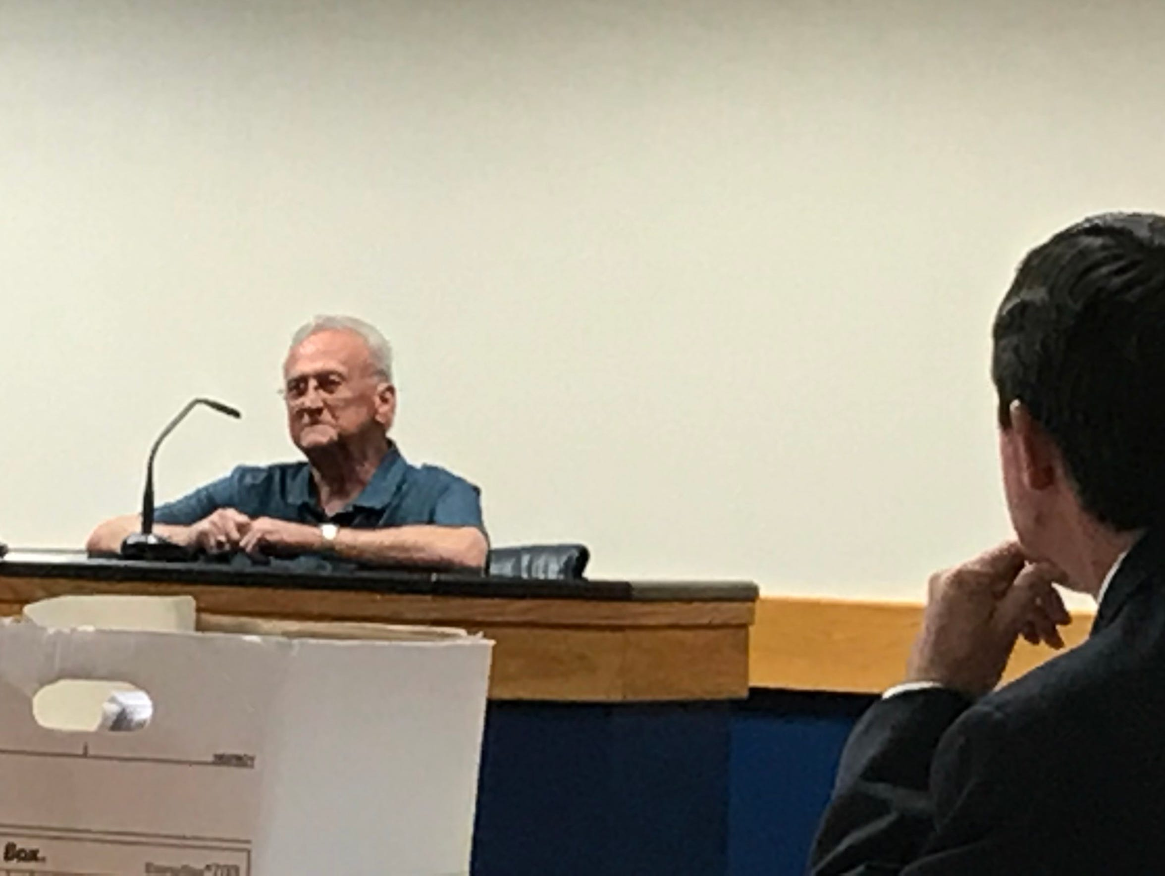 Former lead detective Vero Beach Police Sergeant David Carter testified for the state in 2017.
