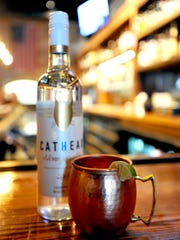 A Mississippi Mule, featuring Cathead Vodka, at Fondren