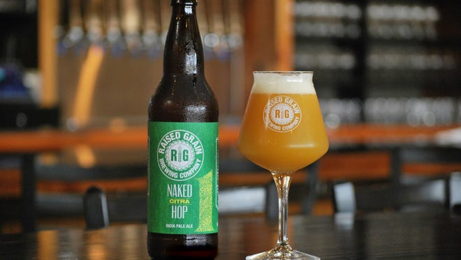 Raised Grain in Waukesha released the first in its Naked Hop series. This one is made with Citra hops.