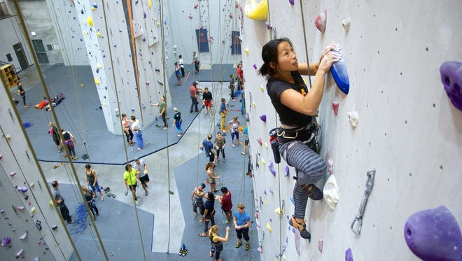 Indoor Climbing Walls Stay Active Year Round