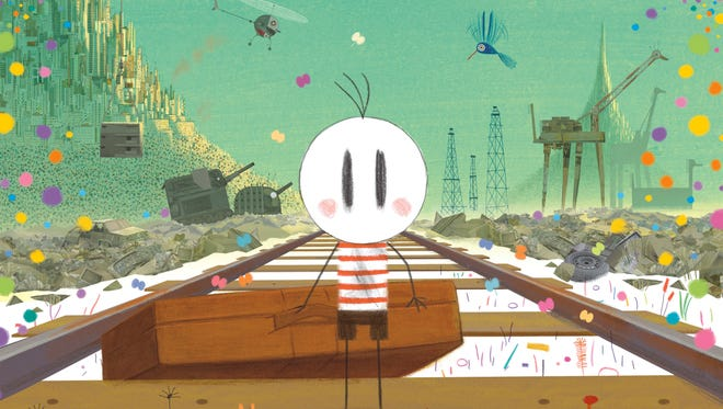 """Joyous music and a world of color accompany simple drawings that tell a complex tale in """"Boy & the World."""""""