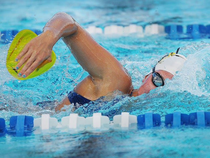 Adrianna DeBoer, 17, is an accomplished swimmer and