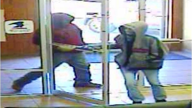 The FBI and Carlsbad police are looking these two bank robbers who stole money from a local bank three years ago.