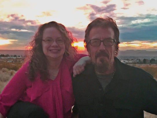 Nicole Osborn and Buddy Akin, members of The Leftovers.