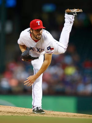 Cole Hamels will be the starting pitcher for Texas in the season opener.